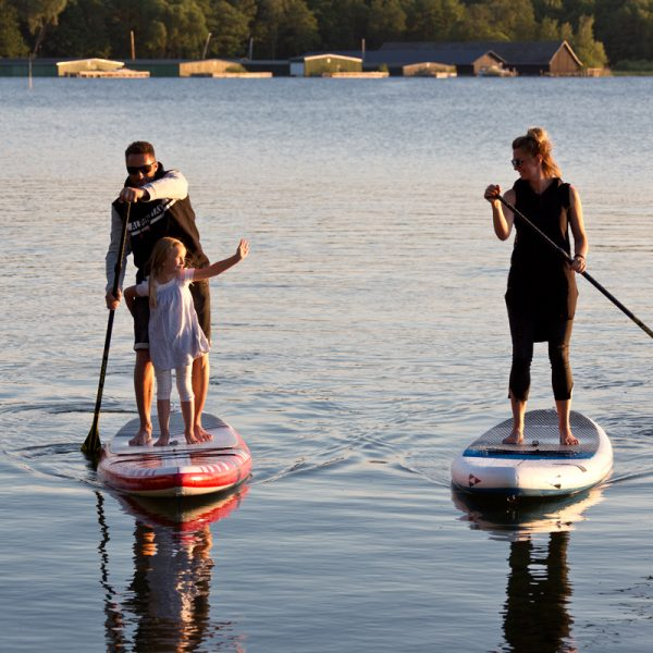 Stand Up Paddling in Familie